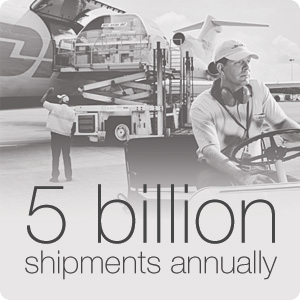5 billion shipment annually